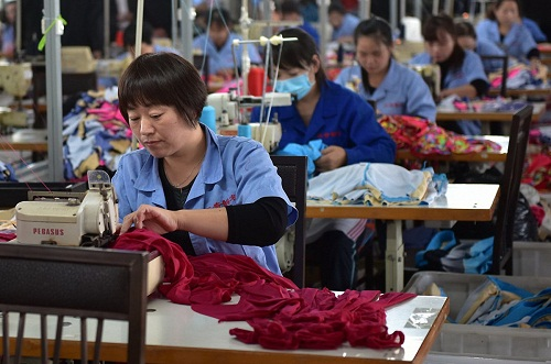 Focus on textile and garment exports to drive Chinas future growth